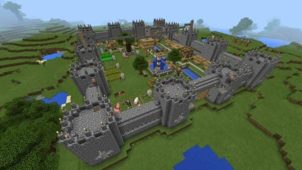 Создание крепости в minecraft