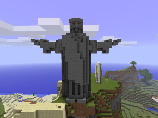 Создание статуи в minecraft